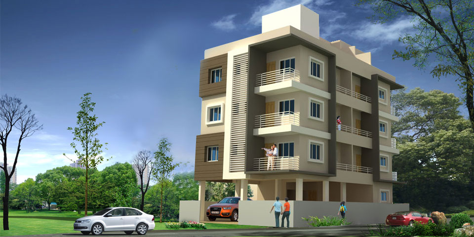 2 bhk apartment / flat in Vishrambag Sangli for sale