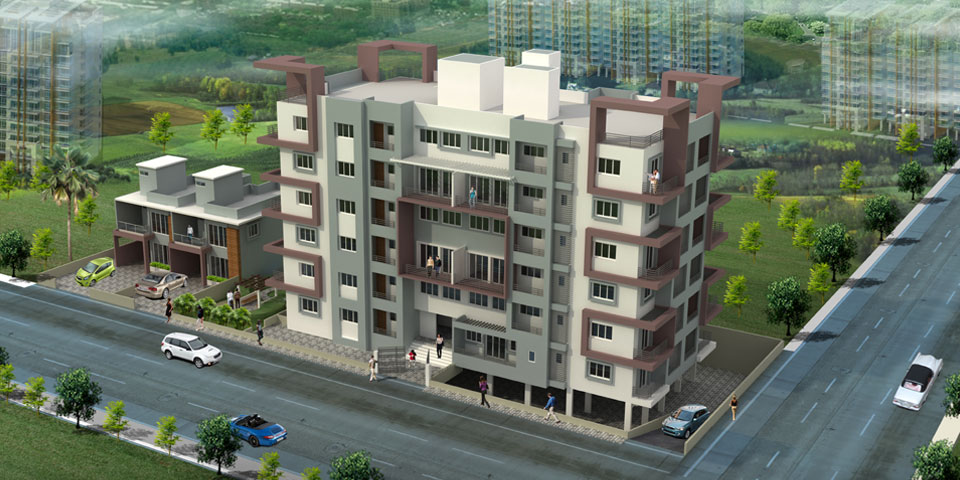 2-3 bhk apartment in Sangli Miraj for sale