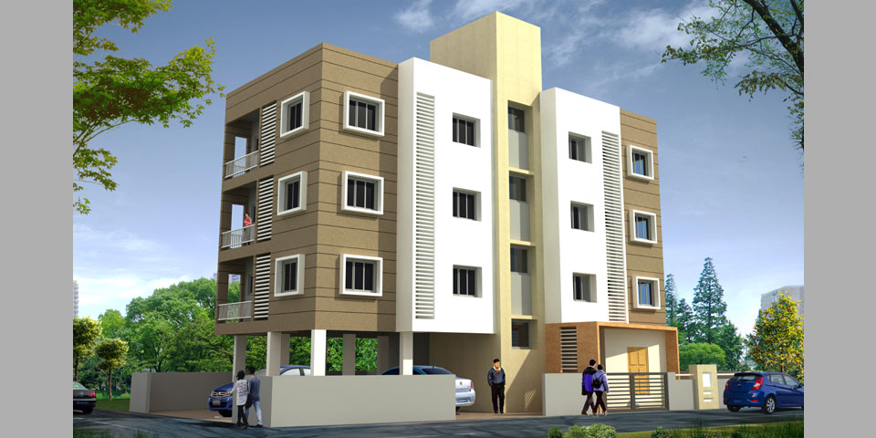 Find flats apartments by builders for Sale in sangli Vishrambag